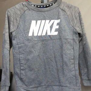 Nike gray kids sweater